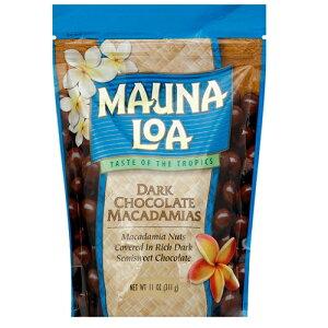 MAUNA LOA Dark Chocolate Macadamias マウナロア ダークチョコレート マカダミアズ 6oz