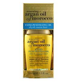 OGX ARGAN OIL OF MOROCCO EXTRA PENETRATING OIL 100ml オージーエックス エクストラ モロッコ アルガンオイル ヘアオイル 100ml