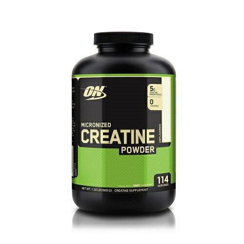 オプティマム ニュートリション マイクロナイズド クレアチンパウダー 600g 無味 Optimum Nutrition Micronized Creatine Monohydrate Powder, Unflavored, 600g