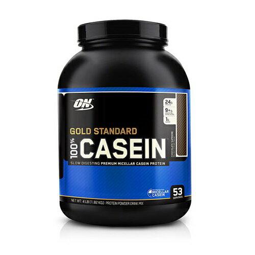 オプティマム ゴールドスタンダート カゼインプロテイン チョコレートピーナッツバター 1.82kg Optimum Nutrition Gold Standard 100% Casein Chocolate Peanut Butter 4lb