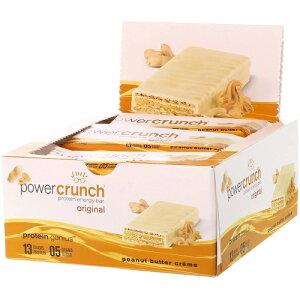 パワークランチ プロテインバー ピーナッツバタークリーム 12本セット(Power Crunch Peanut Butter Creme )