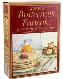 Trader Joe's Butter Milk Pancake & All Purpose Baking Mix / トレーダージョーズ バターミルク パンケーキミックス 907g(32oz)