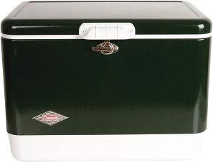 Coleman 54 Quart Steel Belted Cooler Green / コールマン スチールベルト クーラーボックス 54 Quart 85缶収納 大容量 保冷ボックス グリーン 3000003096