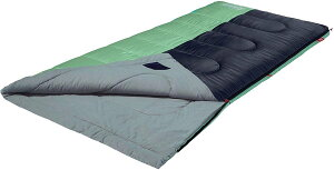 Coleman Biscayne 40°F Big and Tall Sleeping Bag Mint / コールマン ビスケイン 封筒型 寝袋 対応温度 4.4〜15.6 ℃ 195cmまで対応 ミント 2000035888