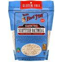 Bob's Red Mill Scottish Oatmeal Stone Ground Gluten Free, 20oz / ボブズレッドミル スコティッシュ オートミール …