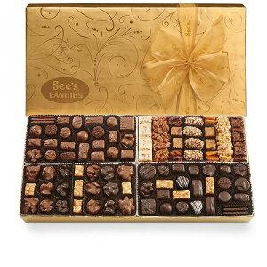 【 See's Candies 】シーズキャンディー [ギフトオブエレガンス] 最高級チョコレート 詰め合わせ 約1.8kg #887 Gift of Elegance 4lb