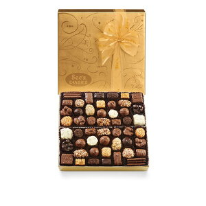 【 See's Candies 】シーズキャンディー [ゴールドファンシー・ラージ] 高級チョコレート 詰め合わせ 約900g #348 Large Gold Fancy 2lb