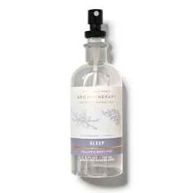 Bath and Body Works Aromatherapy Pillow Mist Sleep CEDARWOOD VANILLA 5.3 fl oz / 156 mL / バス&ボディワークス アロマセラピー スリープ [シダーウッド バニラ] ピローミスト
