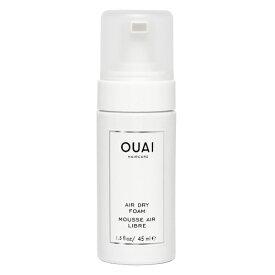 【訳あり】OUAI ウェ AIR DRY FOAM エアドライフォーム トラベルサイズ 1.5floz 45ml【数量特別限定商品】