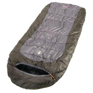 ワイドサイズで機能も充実 コールマン BIG LARGE エクストリームウェザー・スリーピングバッグ・寝袋 並行輸入