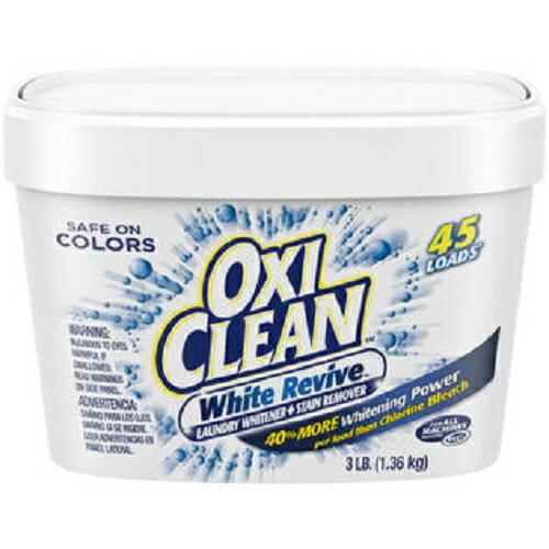 【アメリカ版】Oxi Clean White Revive Powder 3LB オキシクリーン ホワイト リバイブ パウダー 1.36kg