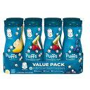 【赤ちゃん安心ブランド】Gerber Graduates Puffs Cereal Snack Variety 8pack/グラデュエイト パフス シリアル バラ…