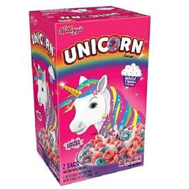 【訳あり】Kellogg's Unicorn Cereal Magical Cupcake 530g×2bag ケロッグ ユニコーン シリアル マジカルカップケーキ味 530g×2袋 1.06kg【賞味期限2019年7月11日】