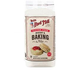 【訳あり/在庫過多】ボブズ レッド ミル グルテンフリー ビスケット & ベイキング ミックス 680 g Bob's Red Mill Biscuit & Baking Mix 24oz