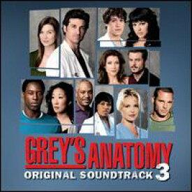 【輸入盤CD】Soundtrack / Grey's Anatomy 3 (サウンドトラック)