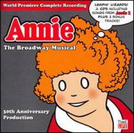 【輸入盤CD】【ネコポス送料無料】Original Broadway Cast / Annie: The 30th Anniversary Cast Recordings (アニー)