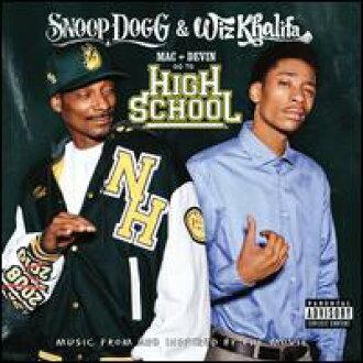 Snoop Dogg&Wiz Khalifa/Mac&Devin Go To High School(進口盤CD)(sunupu·狗&有·鉀大音階第四音)