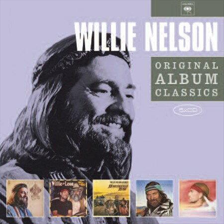 【メール便送料無料】Willie Nelson / Original Album Classics (輸入盤CD)【★】(ウィリー・ネルソン)【割引中】