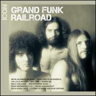 Grand Funk Railroad / Icon (수입반CD)(그랜드・펑크・레이르로드)
