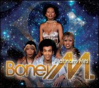 Boney M/Platinum Hits(進口盤CD)(邦尼M)