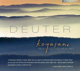 【輸入盤CD】Deuter / Koyasan: Reiki Sound Healing (ドイター)【癒し】