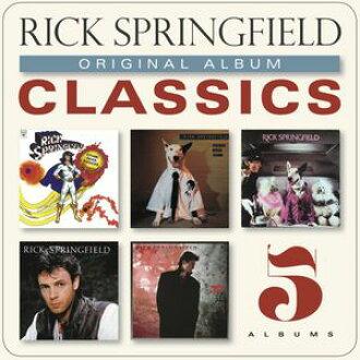 Rick Springfield / Original Album Classics (Box) (import board CD) (Rick Springfield)