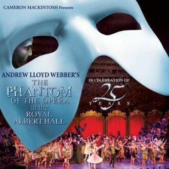 Andrew Lloyd Webber/Phantom Of The Opera At The Royal Albert Hall(進口盤CD)(安德魯·勞合·韋伯)