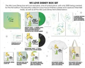 【送料無料】VA / We Love Disney (Box) (輸入盤CD)