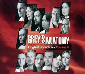 【輸入盤CD】TV Soundtrack / Grey's Anatomy 4 (サウンドトラック)