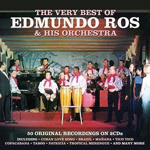 【メール便送料無料】Edmundo Ros / Very Best Of (輸入盤CD)【K2016/6/24発売】( エドムンド・ロス )