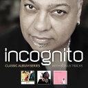 【メール便送料無料】Incognito / Classic Album Series: Who Needs Love/Adventures (輸入盤CD)【K2...
