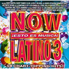 【訳あり】【メール便送料無料】VA / Now Latino 3 (輸入盤CD)
