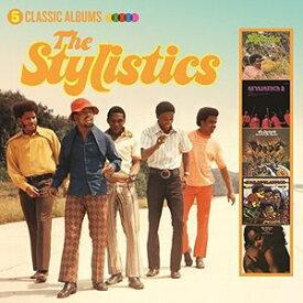 【輸入盤CD】【ネコポス送料無料】Stylistics / 5 Classic Albums 【K2017/4/7発売】(スタイリスティックス)