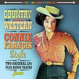【メール便送料無料】Connie Francis / Country & Western Connie Francis Style (輸入盤CD)(コニー・フランシス)