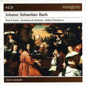 【輸入盤CD】 J.S. Bach/Gustav Leonhardt / Bach: French Suites - Inventions & Sinfonias (Box) 【K2016/6/10発売】