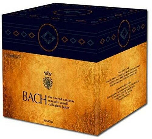 【送料無料】J.S. Bach/Bach Collegium Japan/Masaaki Suzuki / Bach: The Complete Sacred Cantatas (Box) (輸入盤CD)【K2016/6/10発売】