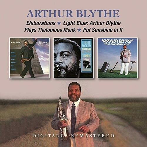 【メール便送料無料】Arthur Blythe / Elaborations/Light Blue: Arthur Blythe Plays (輸入盤CD)【K2017/6/16発売】