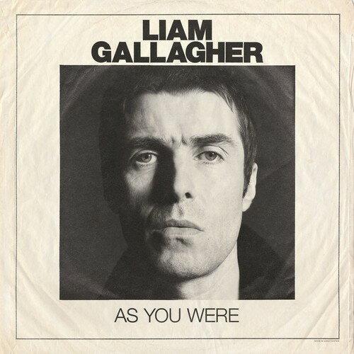 【メール便送料無料】Liam Gallagher / As You Were (Deluxe Edition) (輸入盤CD)【★】【K2017/10/6発売】(リアム・ギャラガー)