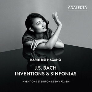 【輸入盤CD】【ネコポス送料無料】Bach/Karin Kei Nagano / J. S. Bach: Inventions Et Sinfonies Bwv 772-801【K2017/3/17発売】