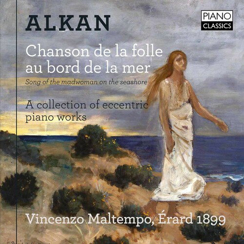 【メール便送料無料】Alkan/Vincenzo Maltempo / Song Of The Madwoman On The Seashore (輸入盤CD)