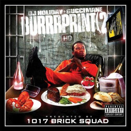 【メール便送料無料】Gucci Mane / Burrprint 2 (On Demand CD) (輸入盤CD)【K2017/8/18発売】(グッチ・メイン)