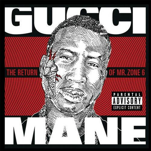 【メール便送料無料】Gucci Mane / Return Of Mr. Zone 6 (On Demand CD) (輸入盤CD)【K2017/8/18発売】(グッチ・メイン)