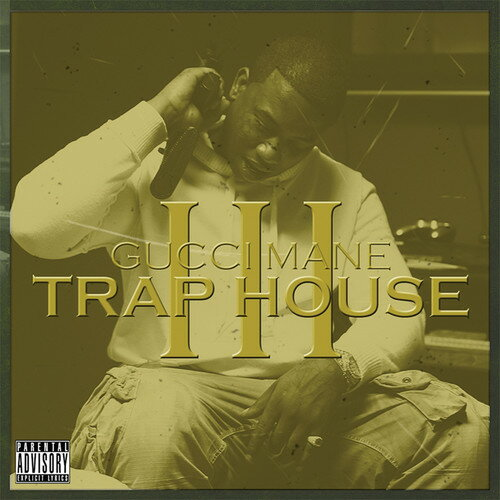 【メール便送料無料】Gucci Mane / Trap House 3 (On Demand CD) (輸入盤CD)【K2017/8/18発売】(グッチ・メイン)