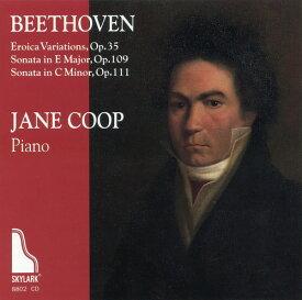 【輸入盤CD】Beethoven/J. Coop / Eroica Variations & Sonatas Op 109 & 111【K2016/9/30発売】