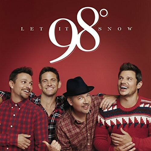 【メール便送料無料】98 Degrees / Let It Snow (輸入盤CD)【K2017/10/13発売】(98ディグチーズ)