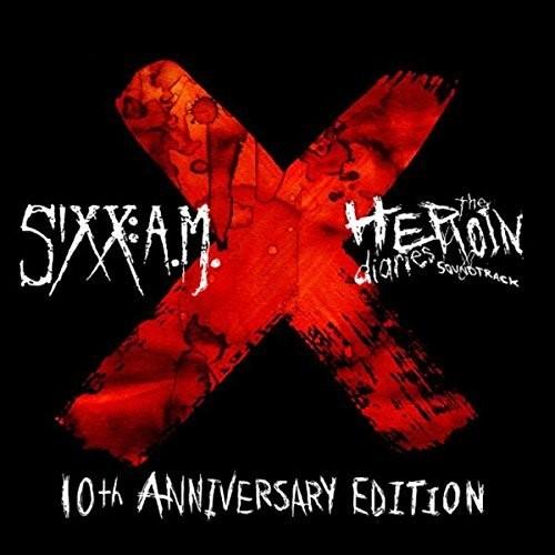 【メール便送料無料】Sixx A.M. / 10th Anniversary Heroin Diaries Super Deluxe (Deluxe Edition) (輸入盤CD)【K2017/10/27発売】(シックスAM)