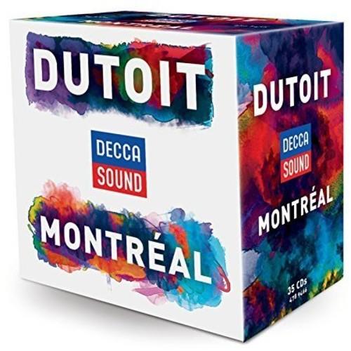 【送料無料】Charles Dutoit/Orchestre Symphonique De Montreal / Montreal Years (Box) (輸入盤CD)