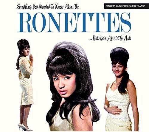 【メール便送料無料】Ronettes / Everything You Wanted To Know About But Were (輸入盤CD) 【★】【K2018/1/26発売】(ロネッツ)