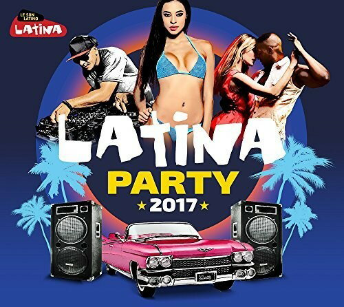 【メール便送料無料】VA / Latina Party 2017 (輸入盤CD)【K2017/10/13発売】