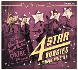 【輸入盤CD】VA / Play The Music Louder: 4-Star Boogies & Jumpin 【K2017/11/3発売】